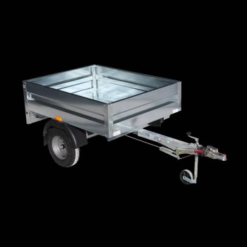 Single-axle trailer transport things